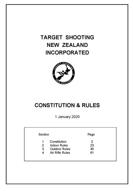 TSNZ Constitution and Rules
