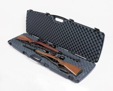"TRANSPORT CASE ""SE SERIES"" FOR 2 RIFLES ahg 255"