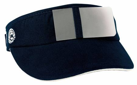 Shooting cap deflector with eyeflap  Blue ahg 300
