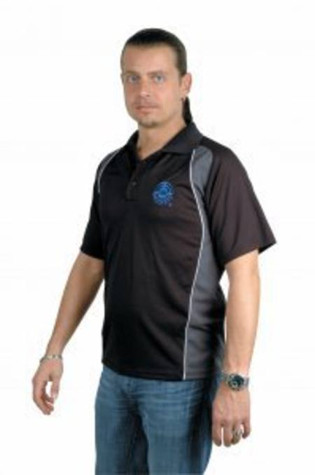 ahg Polo shirt made out of Mesh Material ahg 3200