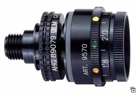 ahg-Iris 5 colour disc and optical device 9570