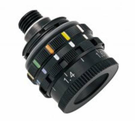 Iris Disc - 10 Colour glass filter,  0.8-1.8 ahg 9786