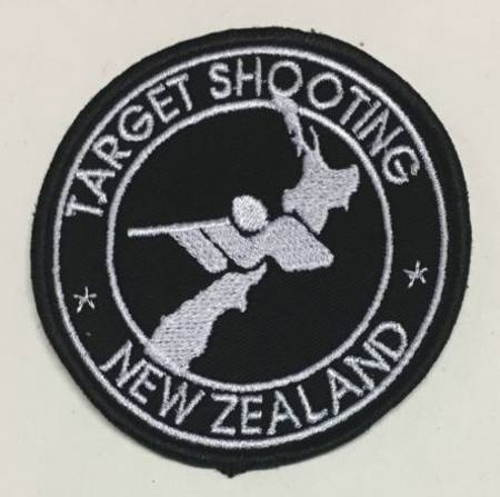 Target Shooting NZ Cloth Badge