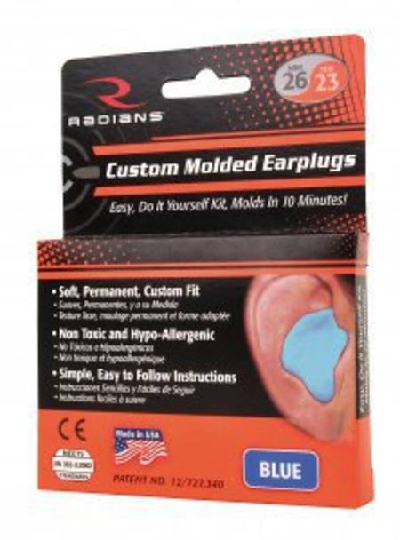 Custom moulded earplugs DIY kit  309