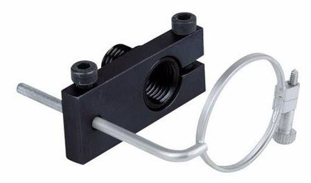 ahg Monoframe, includes peep sight adapter,  ahg 9450